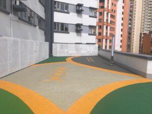 Highrise Playground surfacing solution